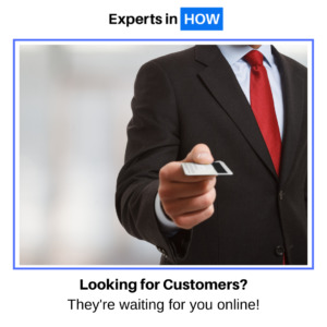 Experts Looking for Customers